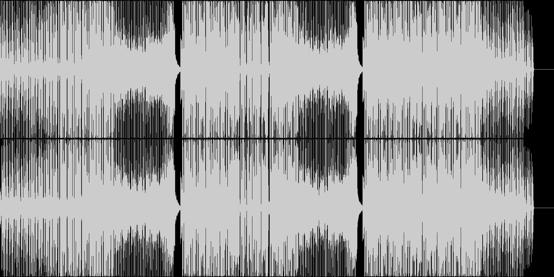 映像作品向きなシンプルなシンセポップの未再生の波形