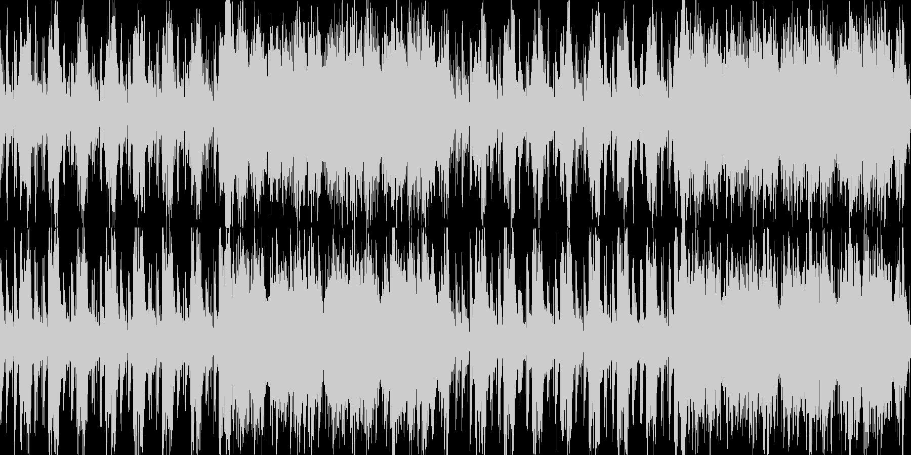 寂しい夜っぽいギターインスト曲<loo…の未再生の波形