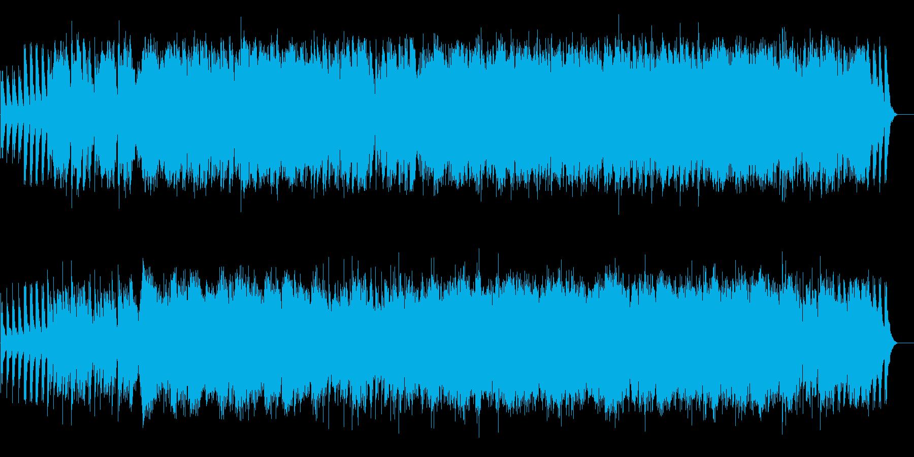 和、中華、尺八と琴の再生済みの波形