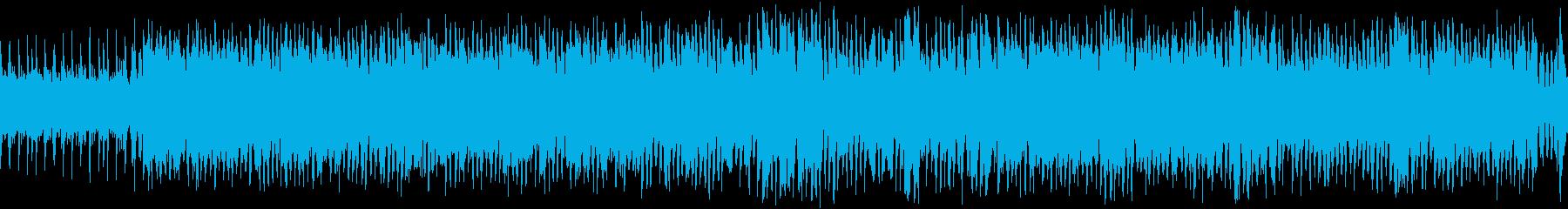 【ループ】カントリー&ウェスタンの楽曲の再生済みの波形