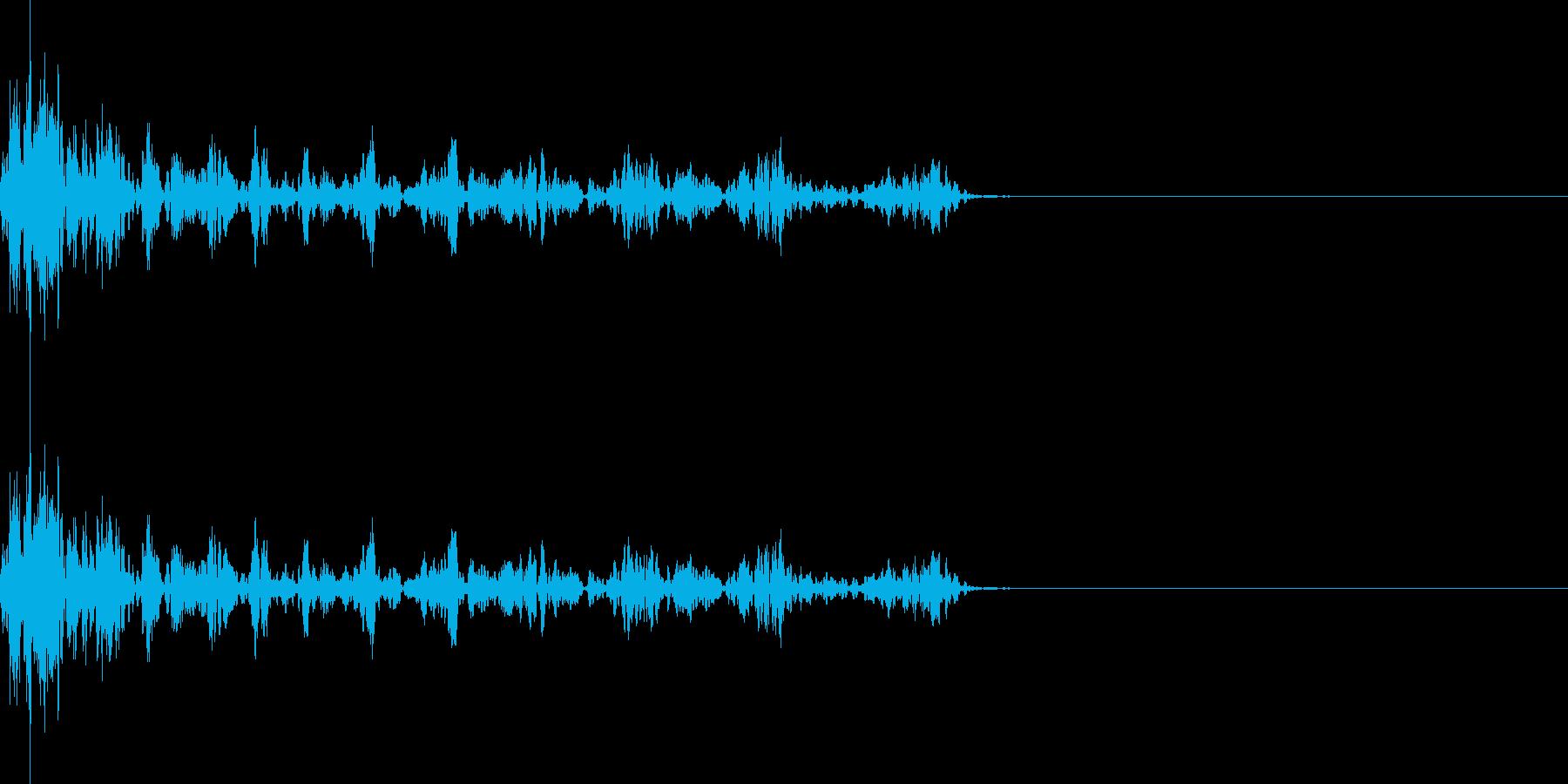 ブッシュシュシュ(マイナス_ミス)の再生済みの波形