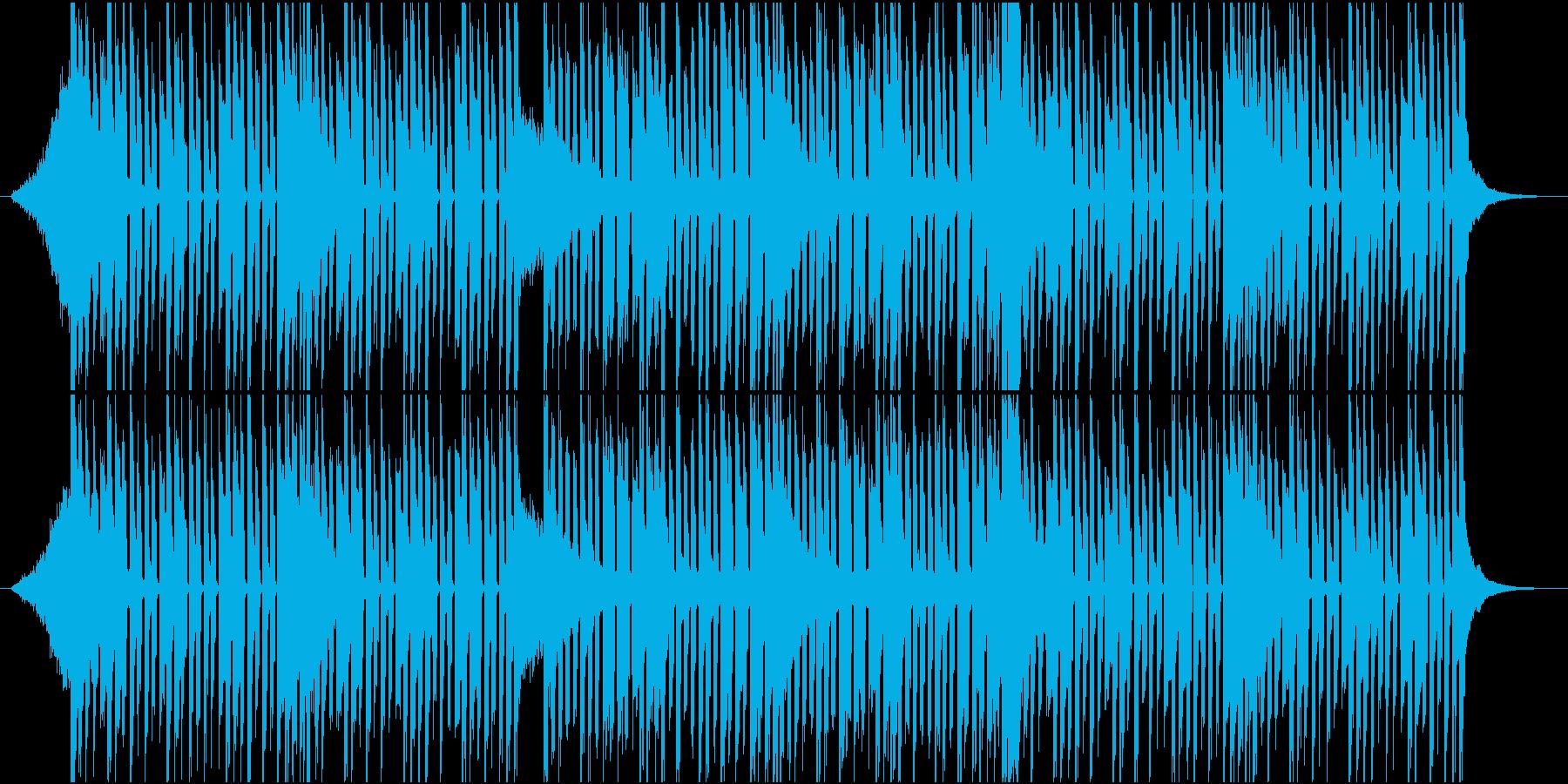 かわいいポップなチップチューンの再生済みの波形