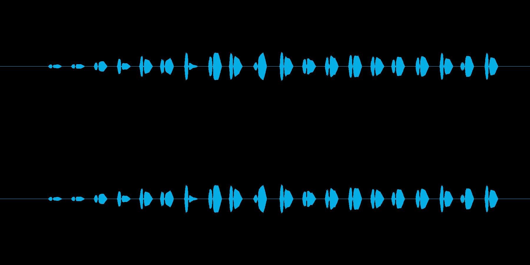 【ポップモーション24-8】の再生済みの波形