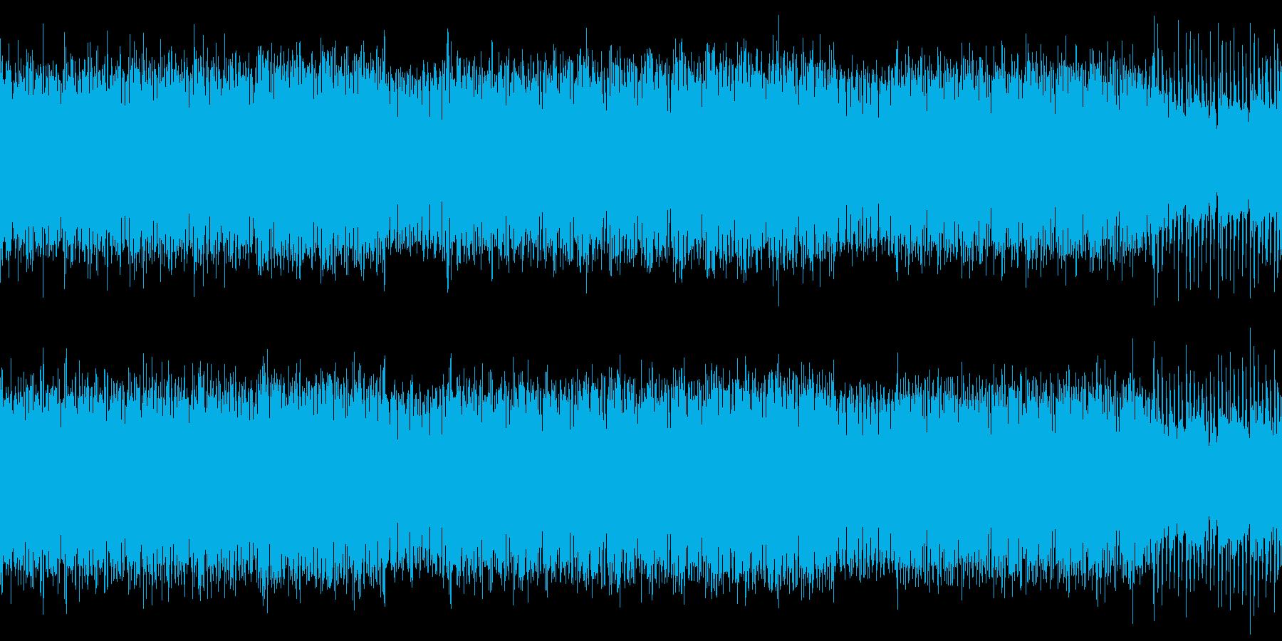 格闘ゲームの選択画面などに【ループ可】の再生済みの波形