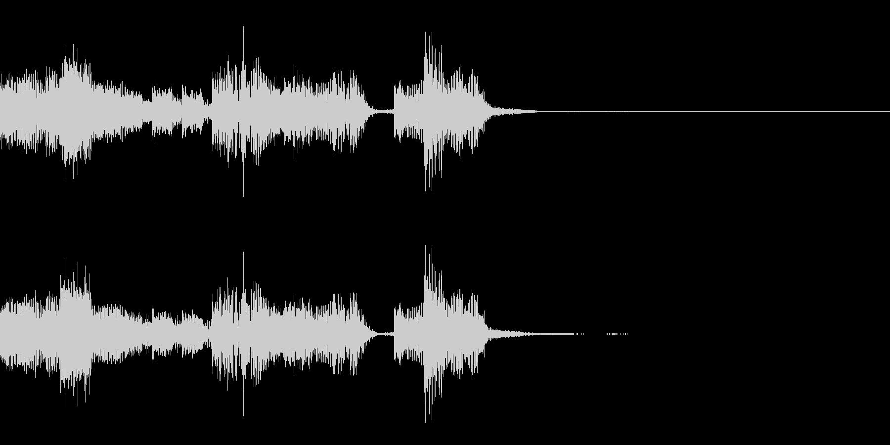 【ロゴ、ジングル】EDM02の未再生の波形