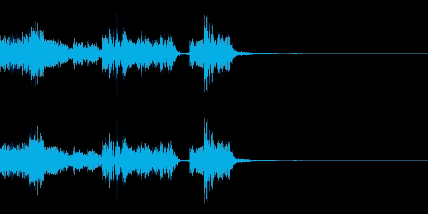 【ロゴ、ジングル】EDM02の再生済みの波形