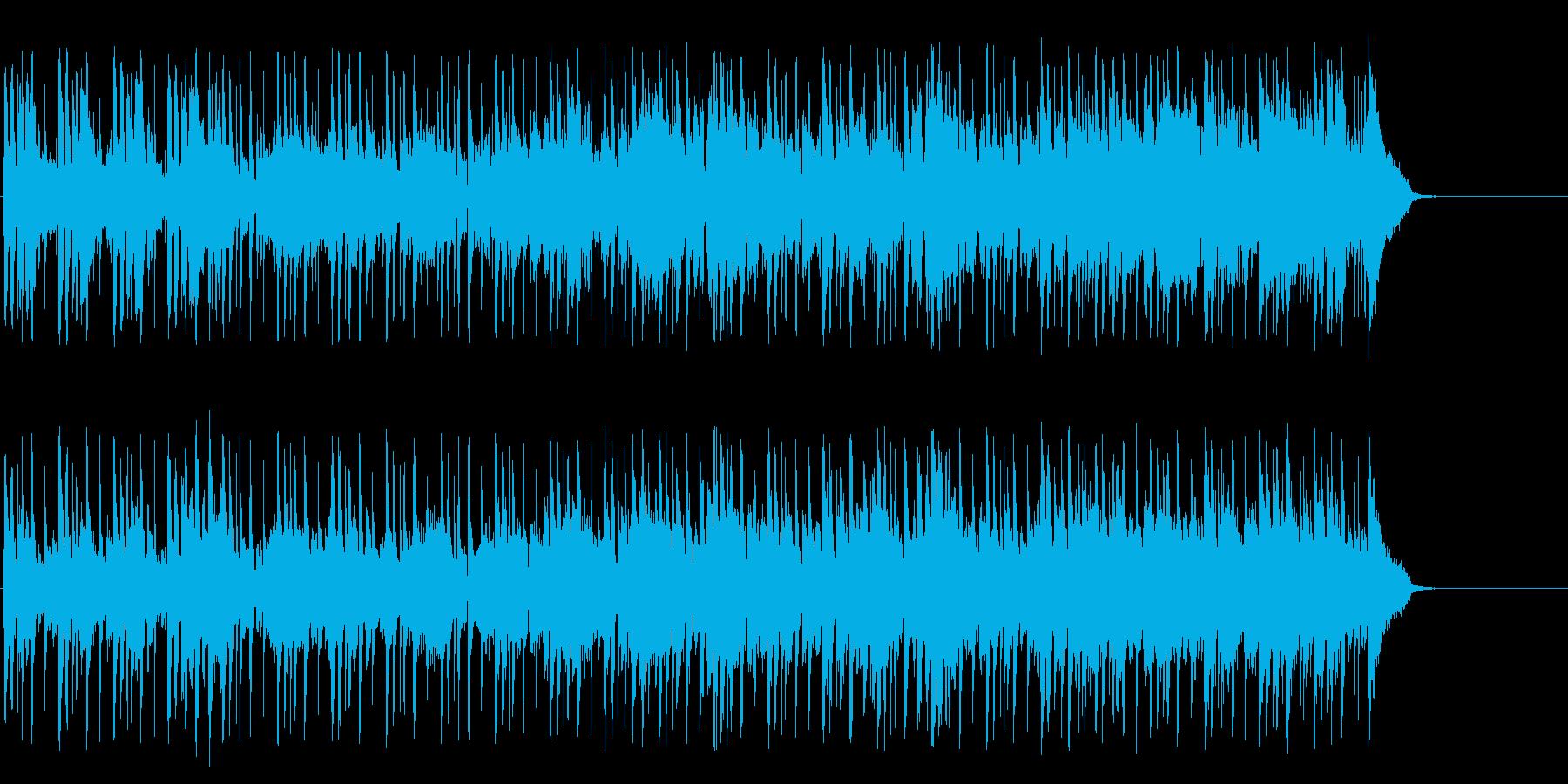 クルーズする優雅なポップ(イントロ~…)の再生済みの波形
