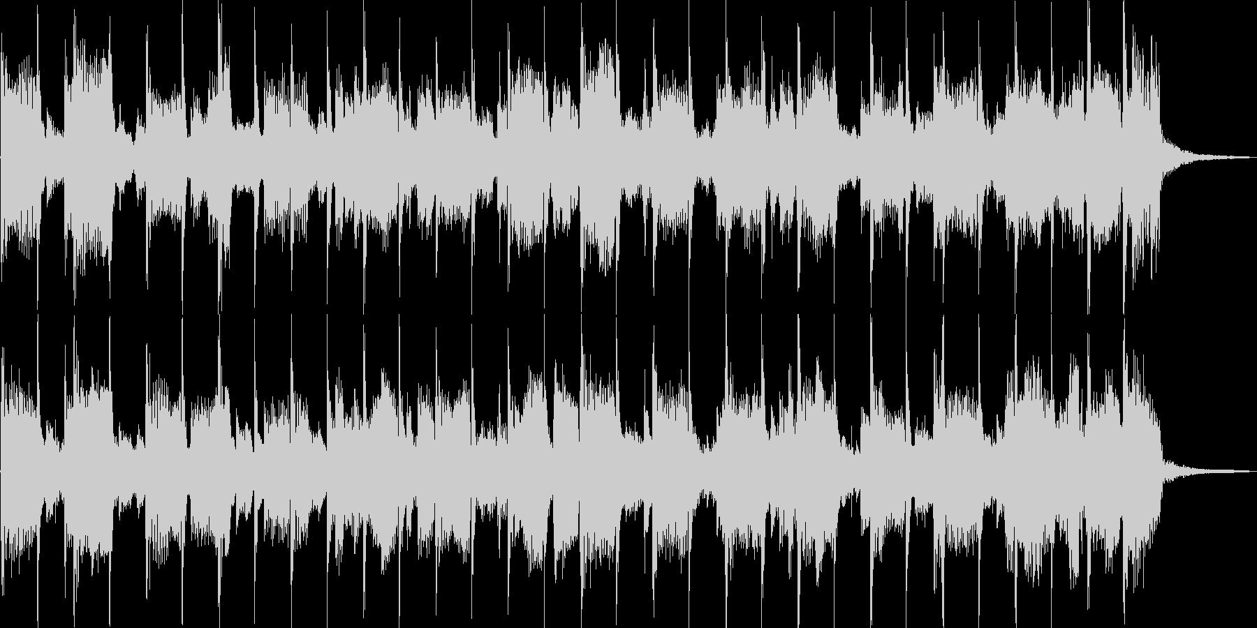 落ち着いた雰囲気のピアノバラードBGMの未再生の波形