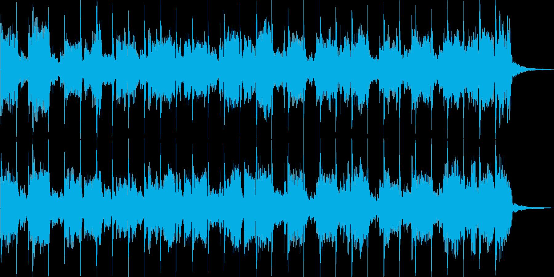 落ち着いた雰囲気のピアノバラードBGMの再生済みの波形