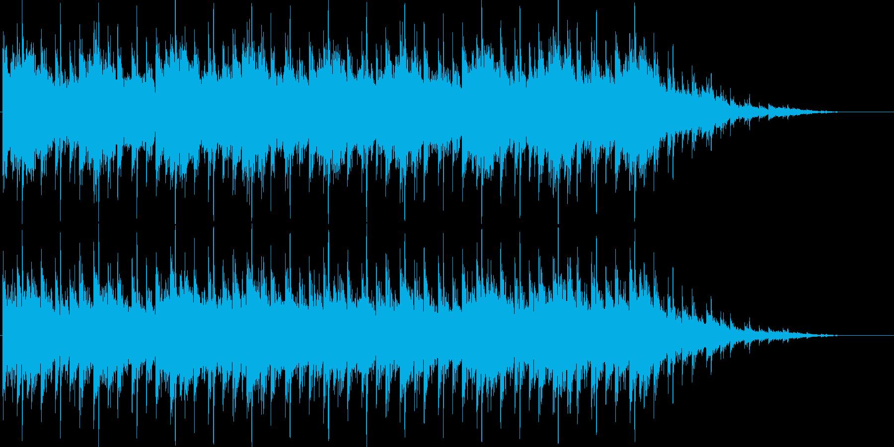 ゲームのシステム画面(キャラ選択、メニ…の再生済みの波形