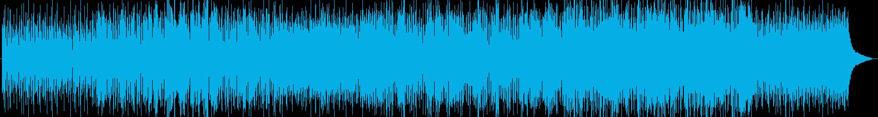 フルートのメロディが印象的な爽やかな曲の再生済みの波形
