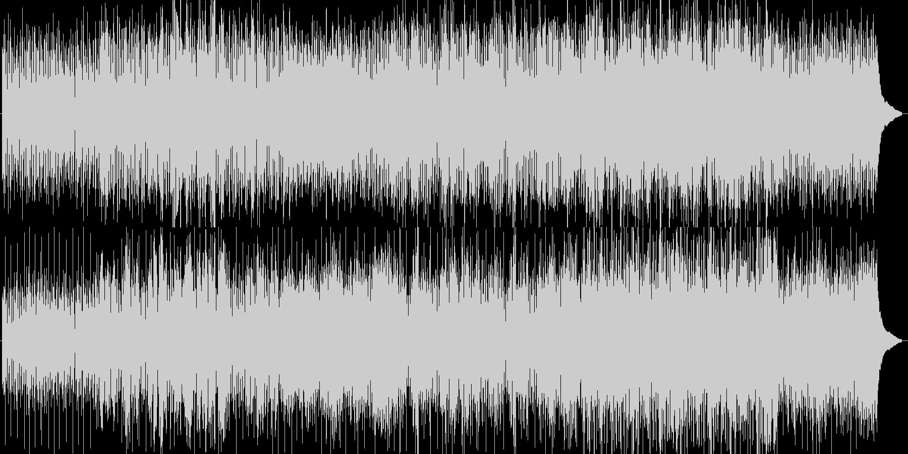 フルートのメロディが印象的な爽やかな曲の未再生の波形
