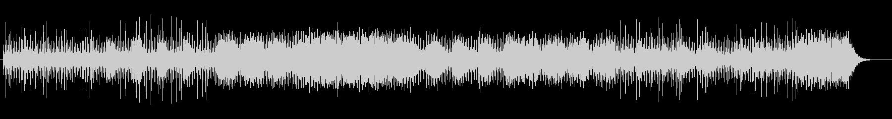 透明感とミステリアスなシンセサウンドの未再生の波形