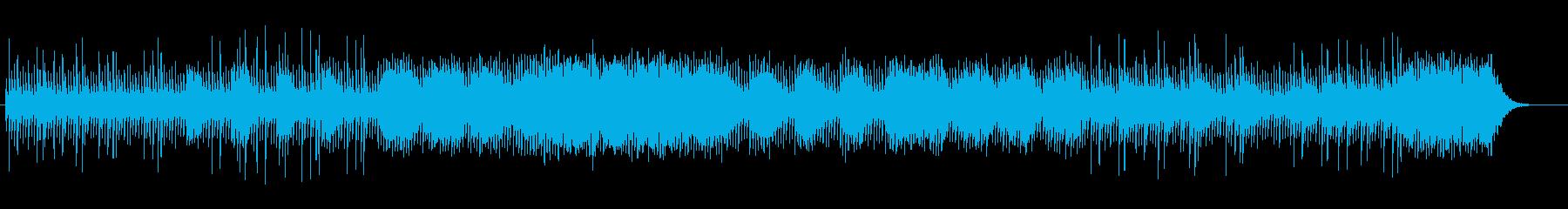 透明感とミステリアスなシンセサウンドの再生済みの波形