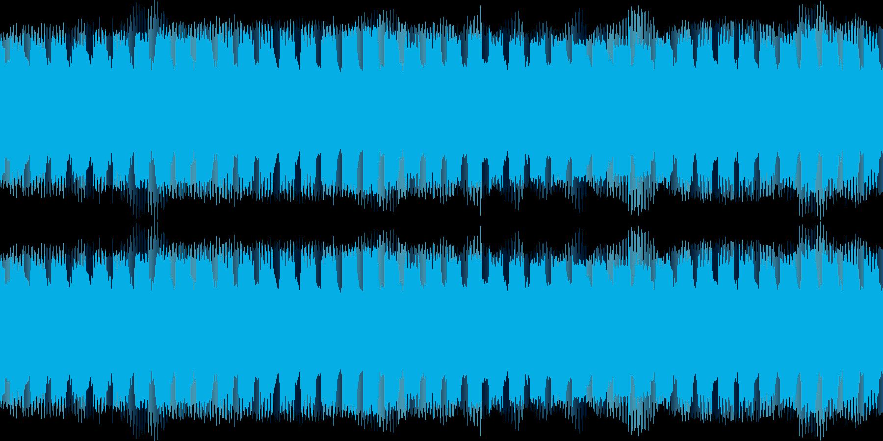 環境音・ハムノイズ(ブーン)の再生済みの波形
