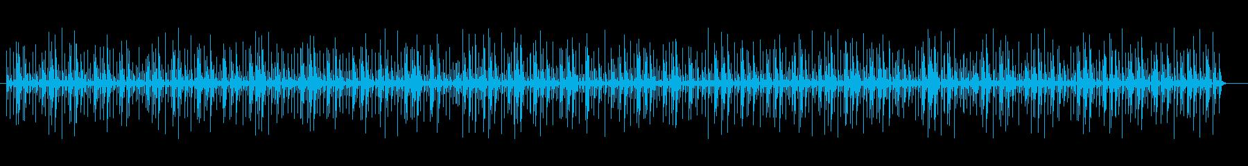 コンガのリズムBGM テンポ100ですの再生済みの波形