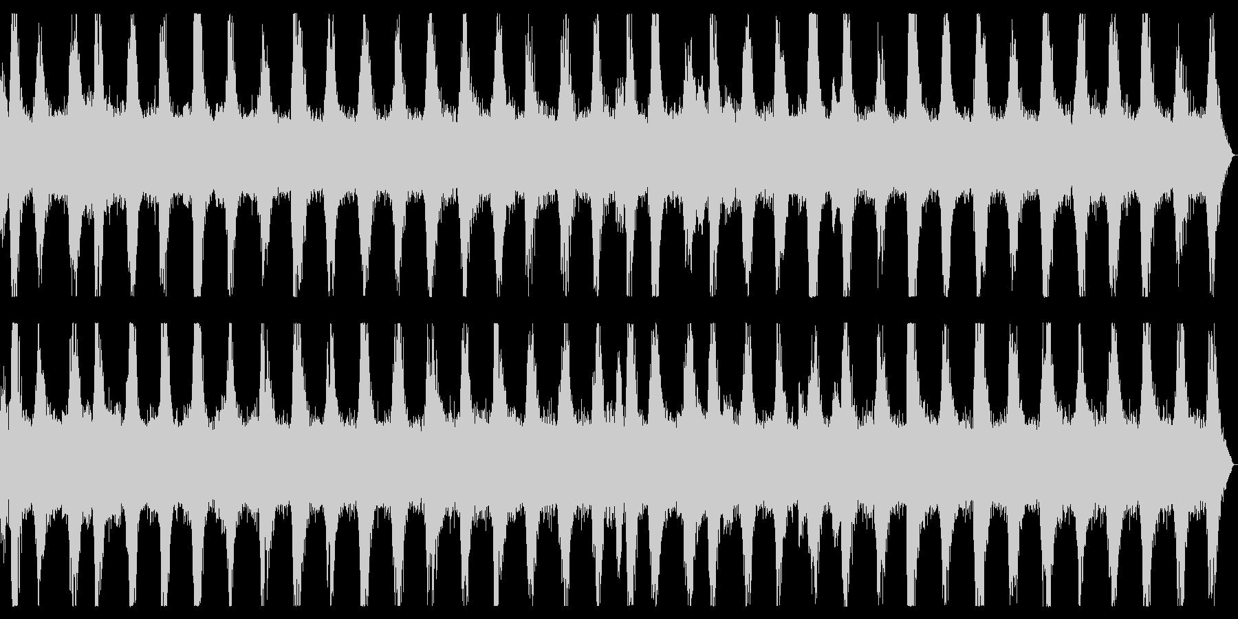 ダークアンビエント ホラーなノイズBGMの未再生の波形