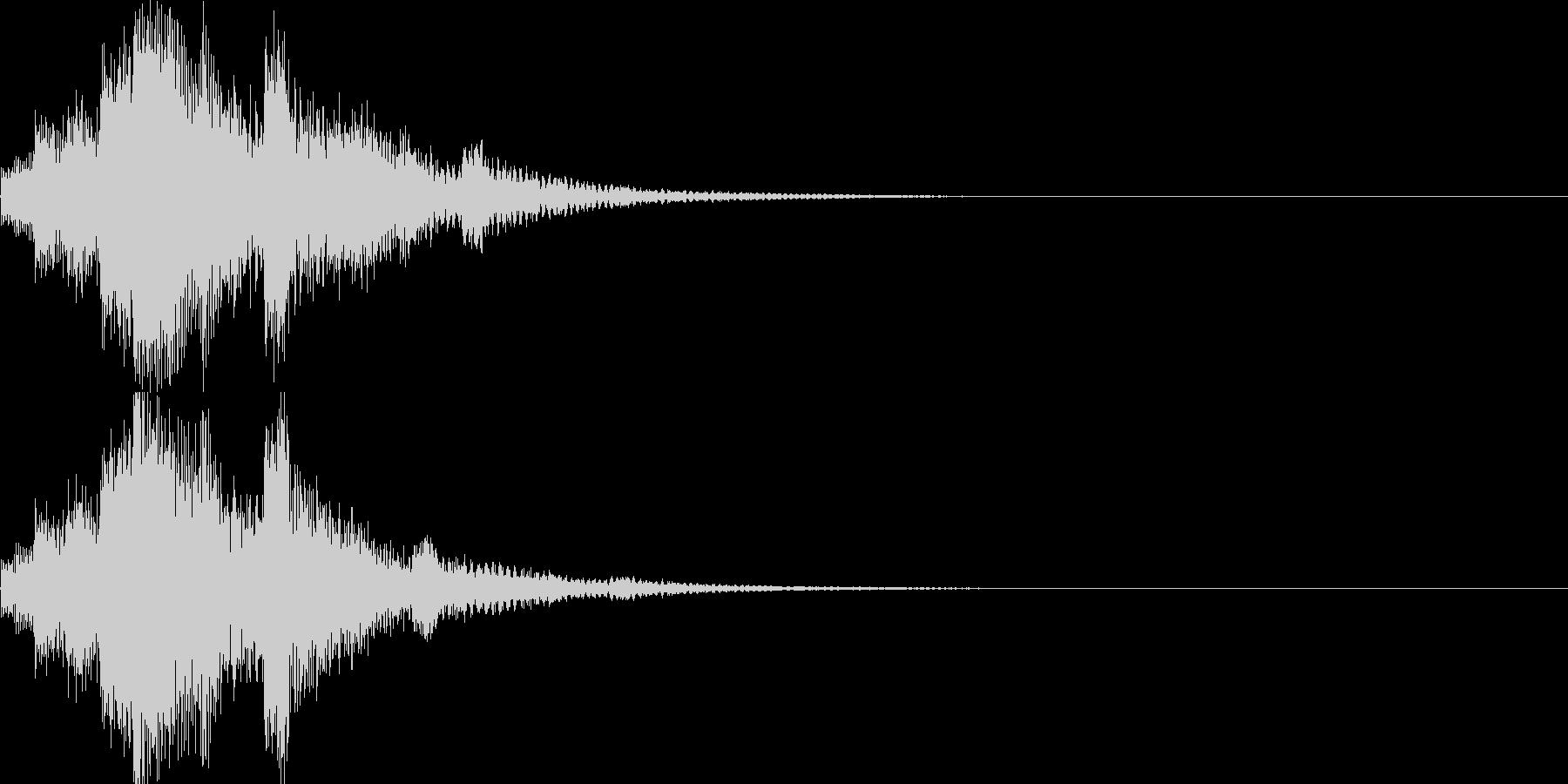 システム音04_シンセ(和風)の未再生の波形