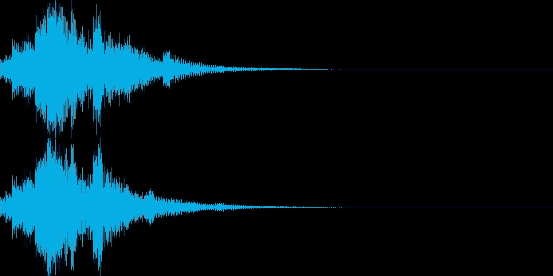 システム音04_シンセ(和風)の再生済みの波形