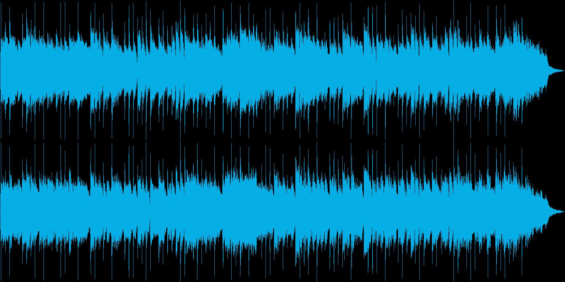 ナレーションのバックなどにの再生済みの波形