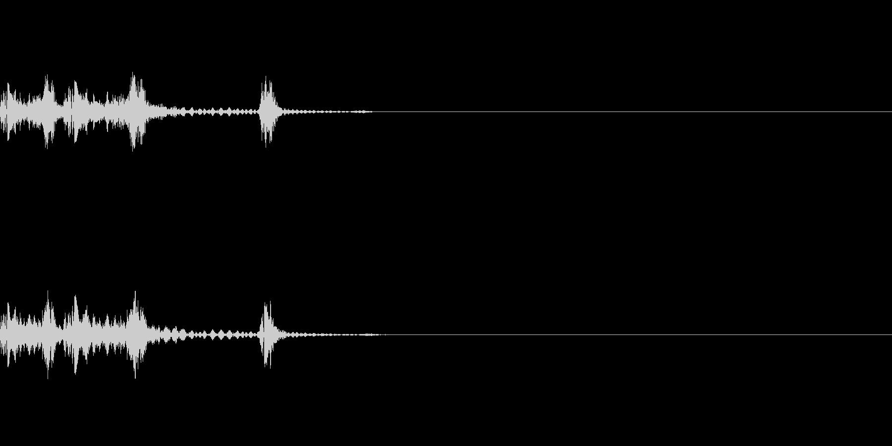 カシャンの未再生の波形