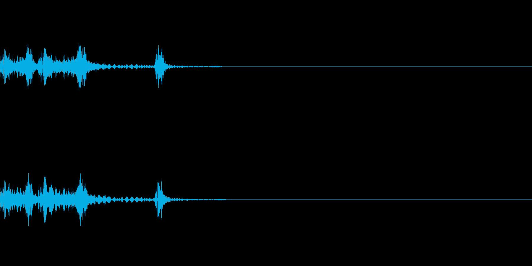 カシャンの再生済みの波形