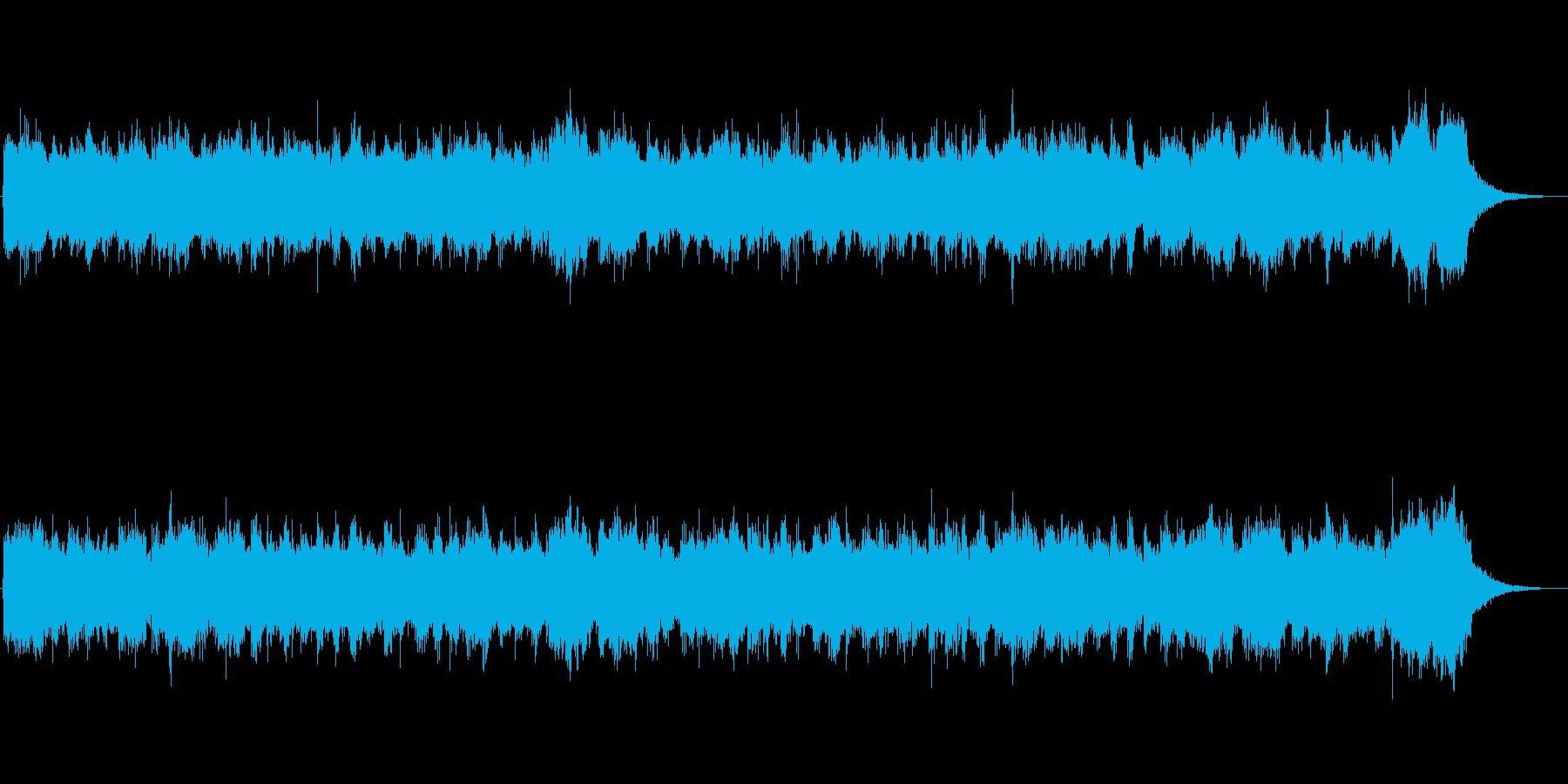 映画に出てくるオーケストラサウンドの再生済みの波形