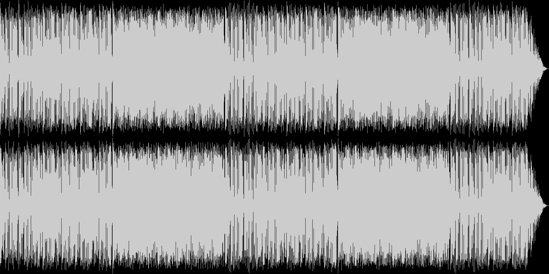 キラキラかわいいBGMのロングver.の未再生の波形