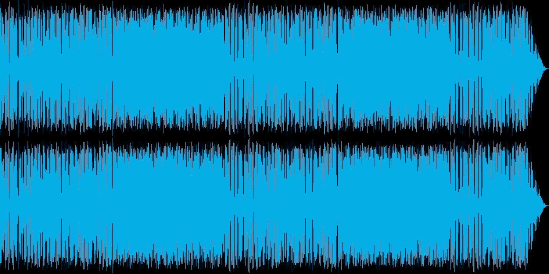 キラキラかわいいBGMのロングver.の再生済みの波形
