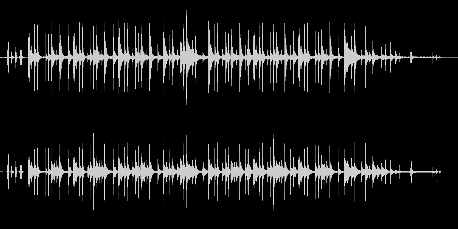 生音重視のオルゴールの未再生の波形