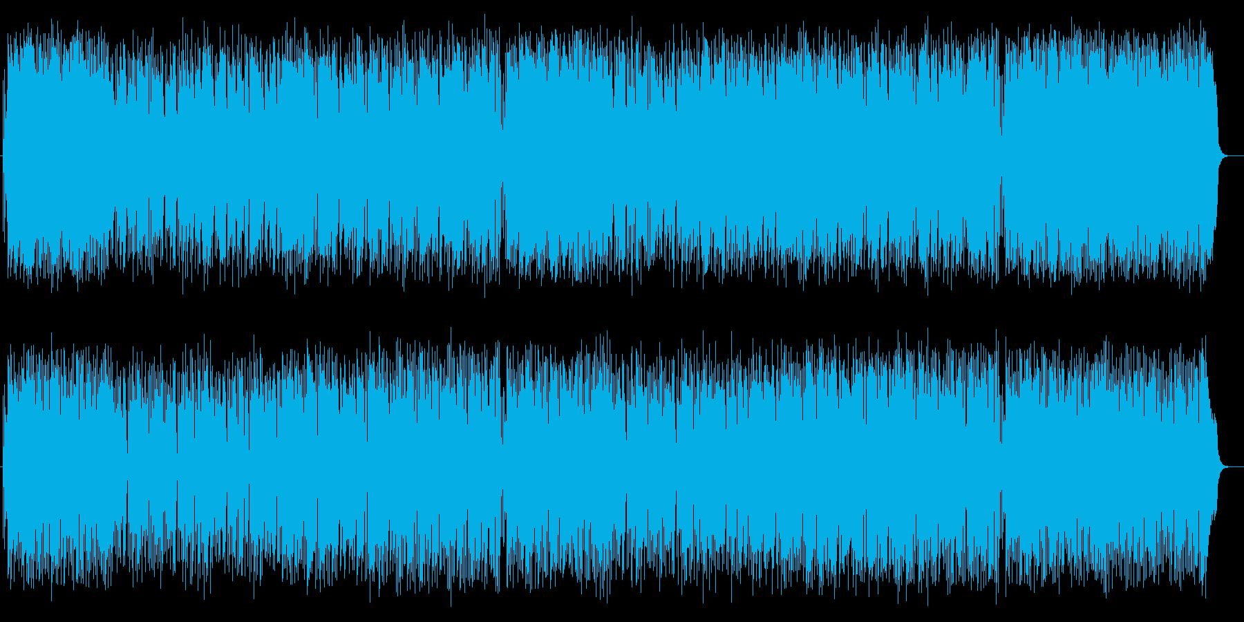 楽器が奏でるハーモニーが素敵なポップの再生済みの波形