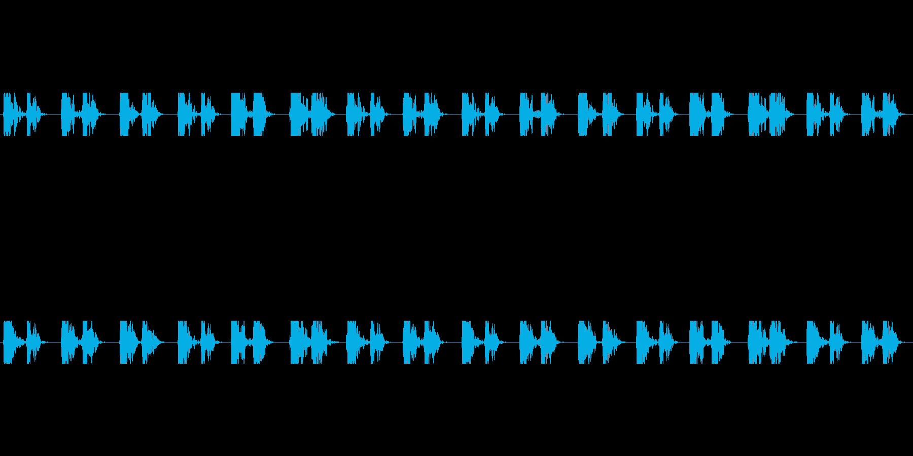 【心拍01-3L】の再生済みの波形