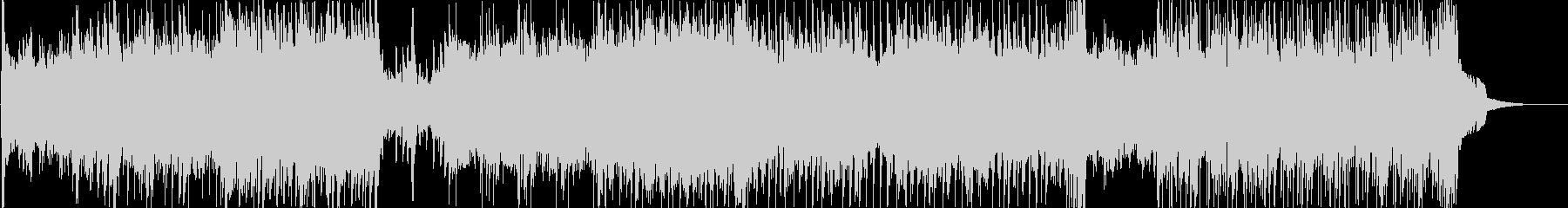 ダーティーなロック調の戦闘用BGMの未再生の波形