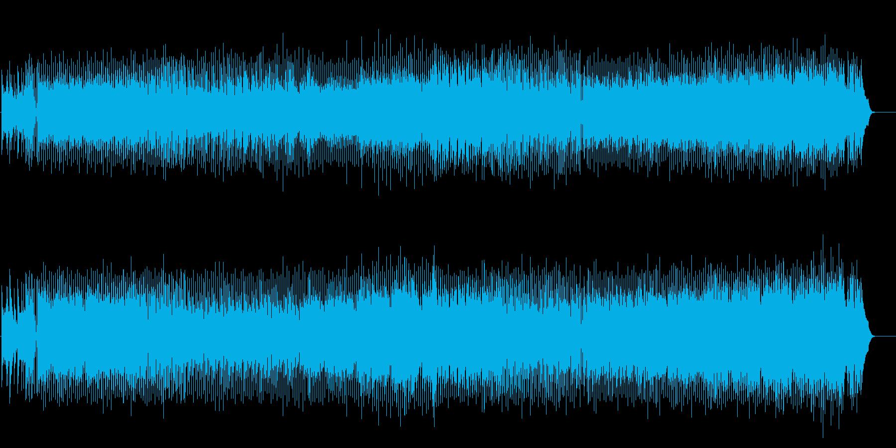 口ずさめそうなポップ・ミュージックの再生済みの波形