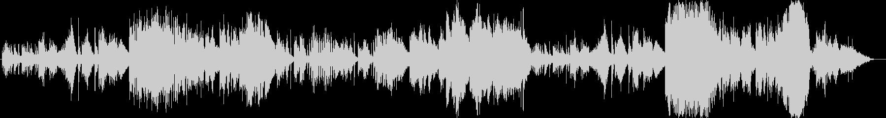 2009年の秋頃に製作したオリジナル曲…の未再生の波形