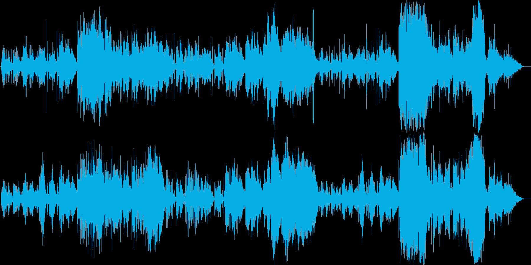 2009年の秋頃に製作したオリジナル曲…の再生済みの波形