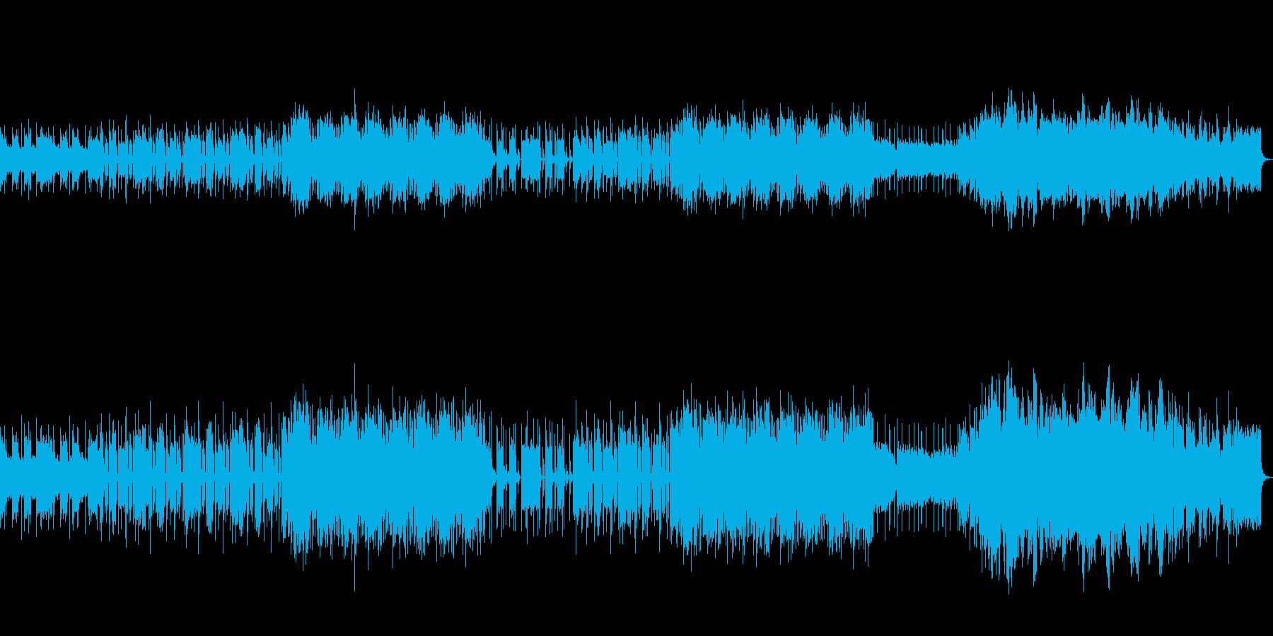 ハーモニカによる男らしいBGM。の再生済みの波形