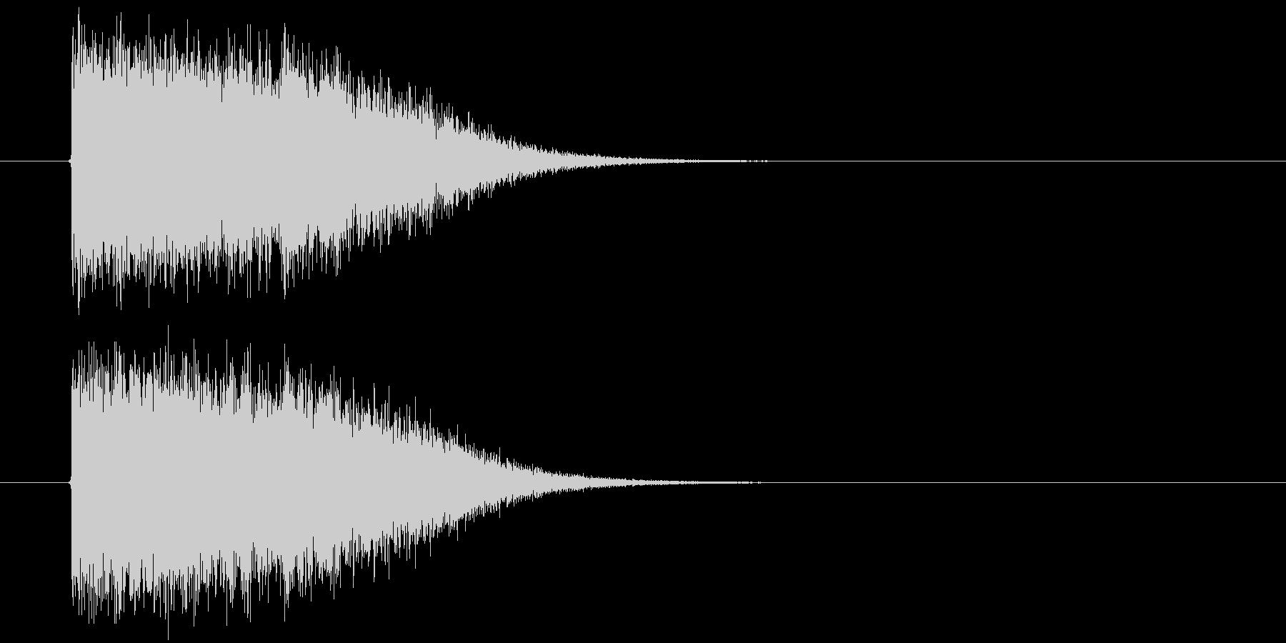 SF系インパクトの未再生の波形