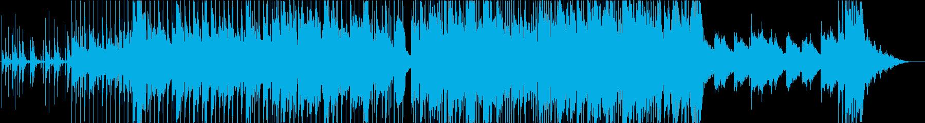 爽やかイージーリスニングの再生済みの波形