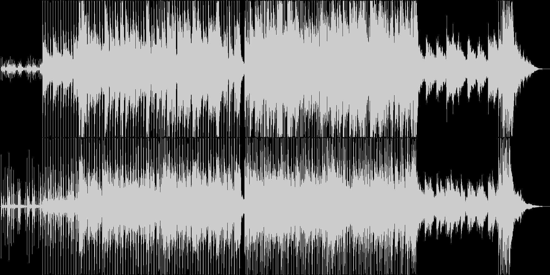 爽やかイージーリスニングの未再生の波形