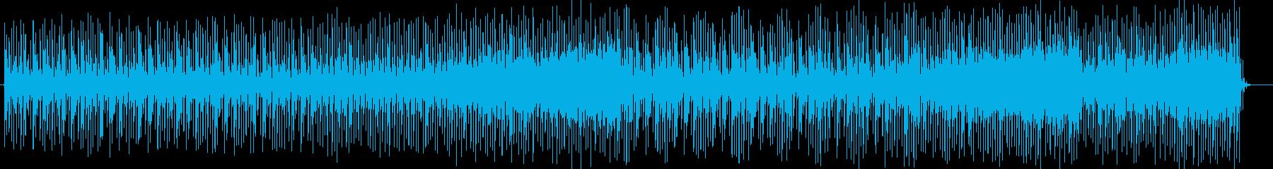 おしゃれでミステリアスなシンセサウンドの再生済みの波形