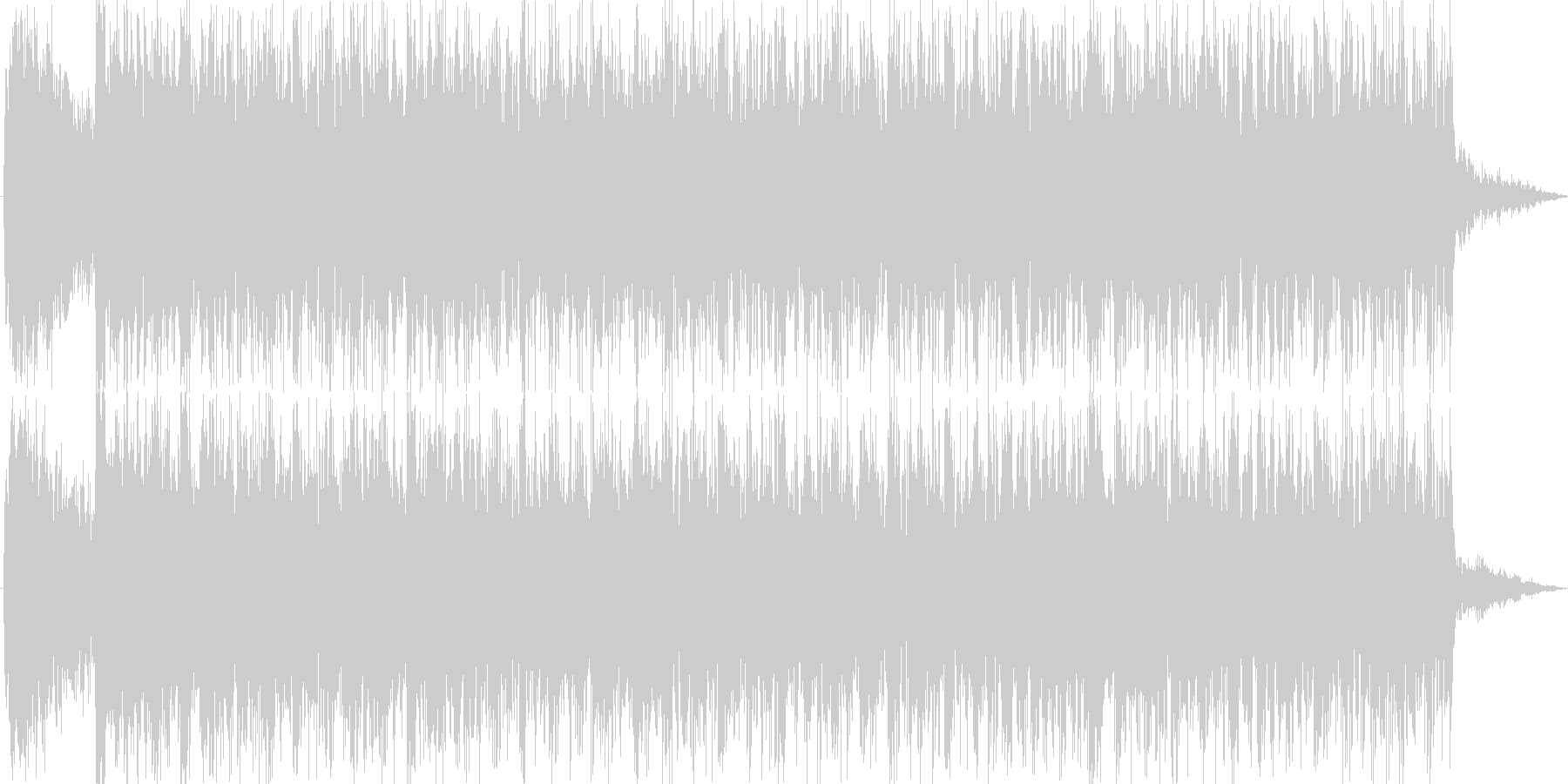 場面転換に最適な曲、ジングル向きの未再生の波形