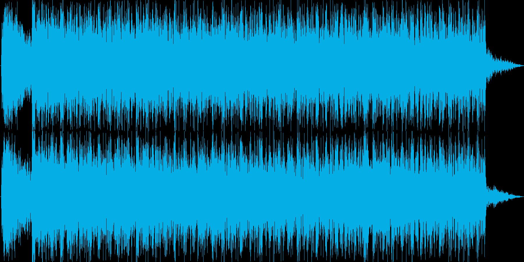 場面転換に最適な曲、ジングル向きの再生済みの波形