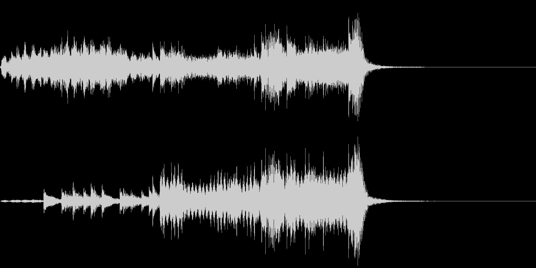 サスペンス~ティンパニの音で犯人と対決~の未再生の波形