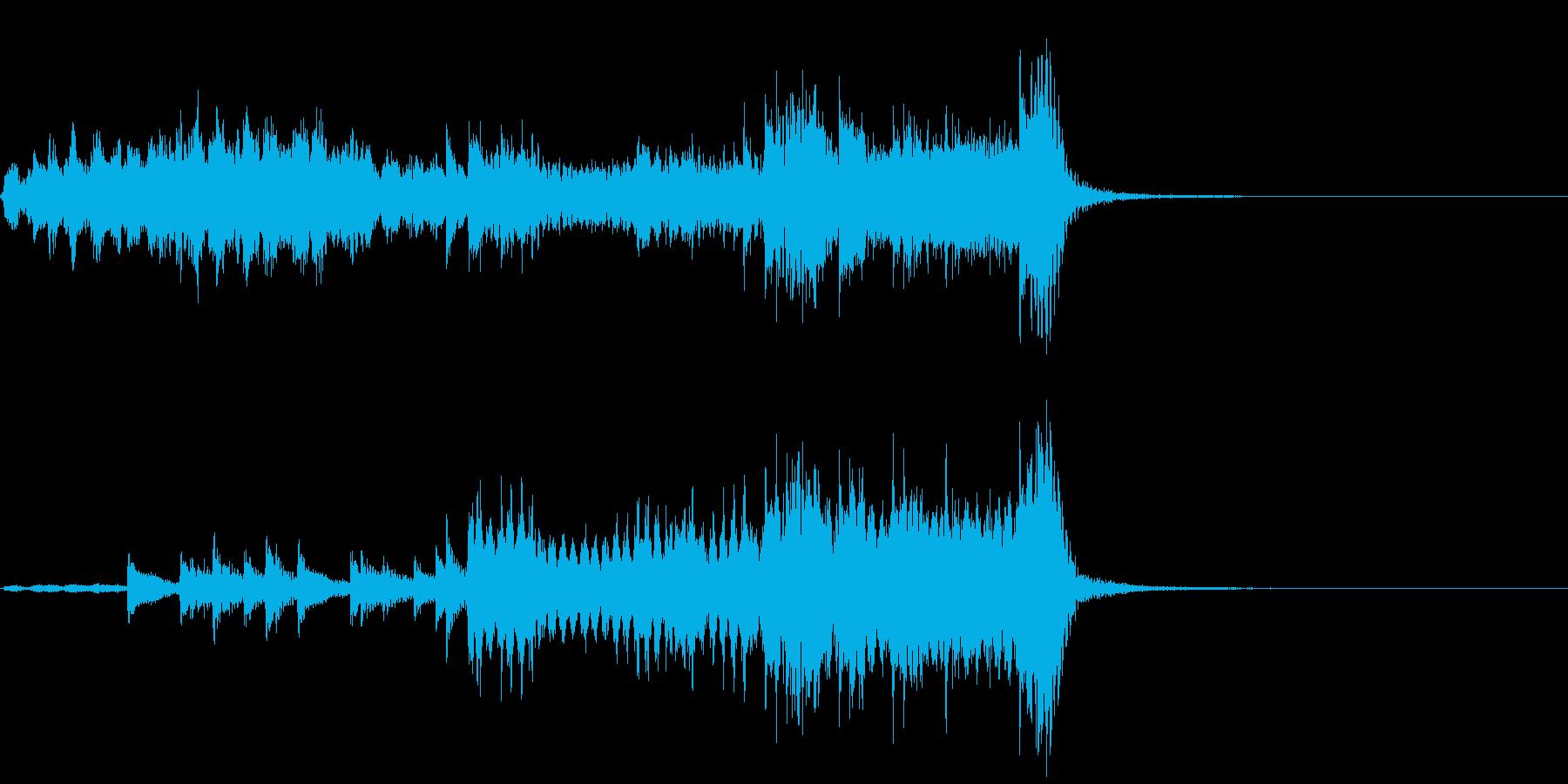 サスペンス~ティンパニの音で犯人と対決~の再生済みの波形
