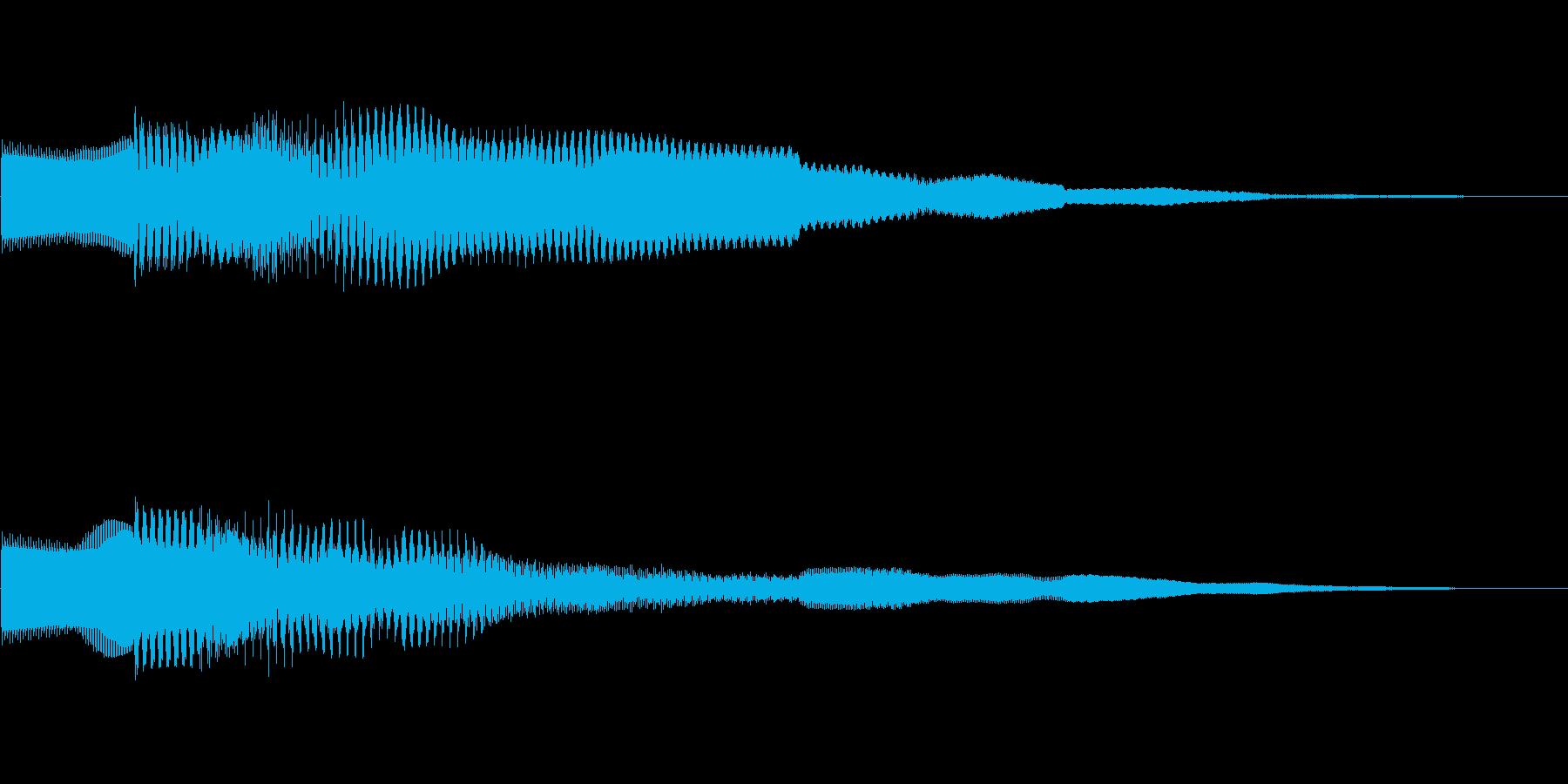ピコーン!!クイズ回答タッチ 01の再生済みの波形