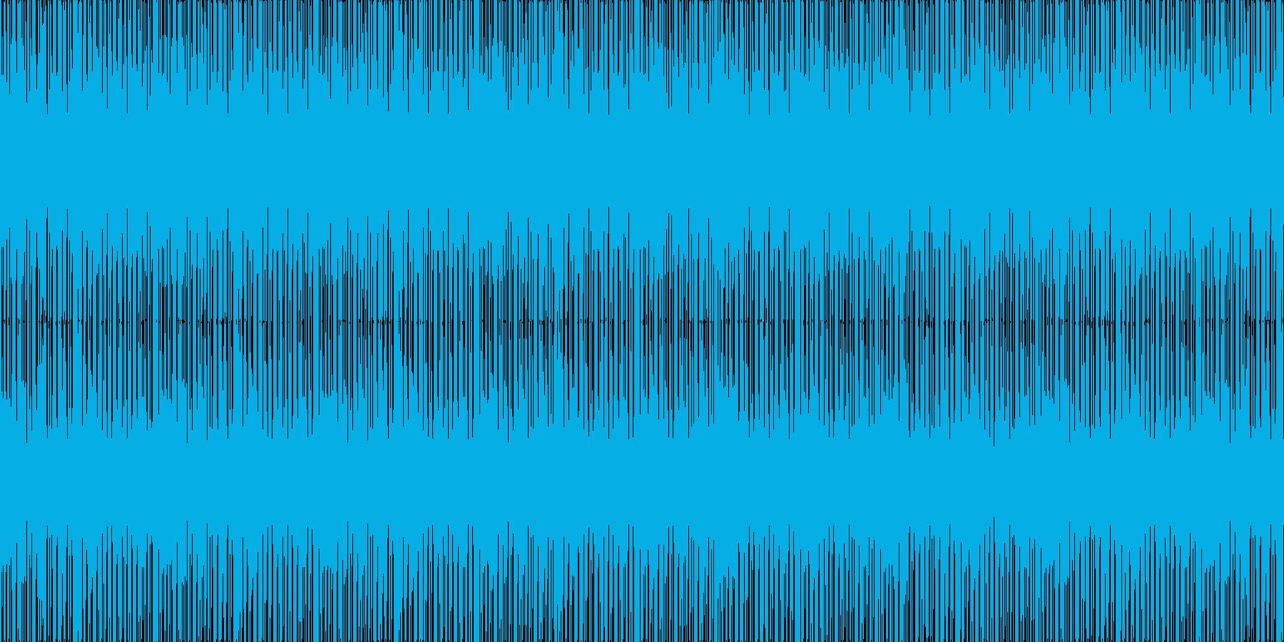あせり感の再生済みの波形