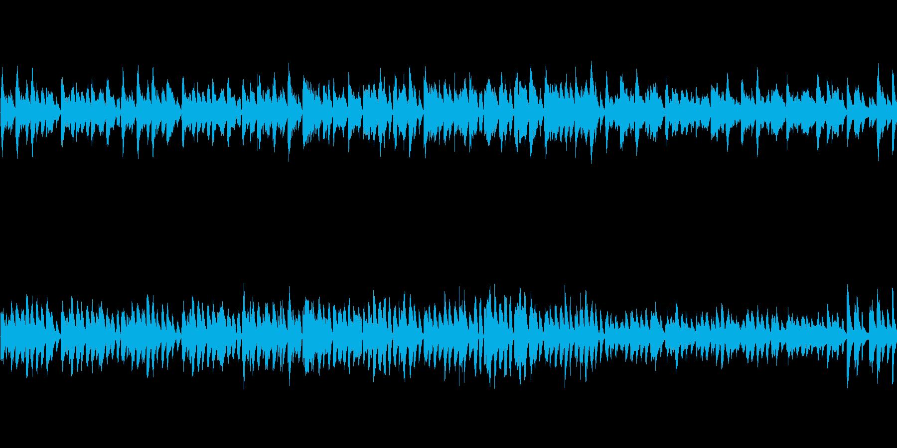 おだやかなかわいい曲 の再生済みの波形