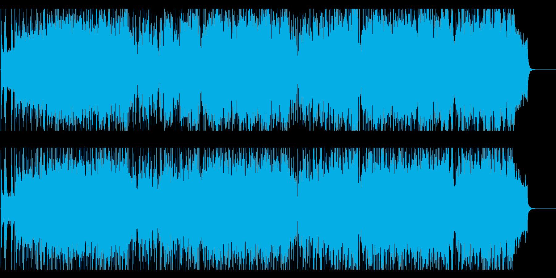 軽快 いきいき はつらつ 前進 躍動の再生済みの波形