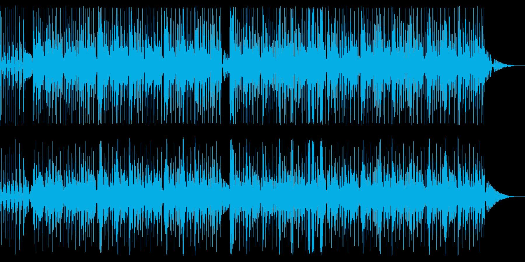 タブラとジャズの不思議な曲の再生済みの波形